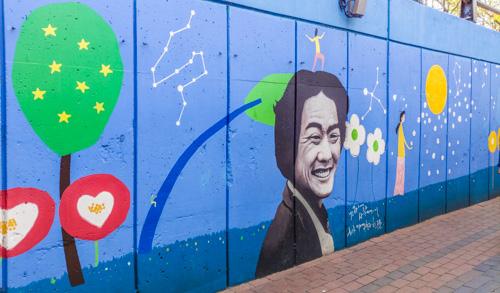 Kim Gwangseok Memorial Street Mural