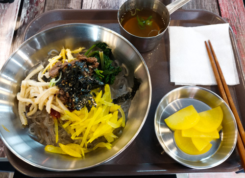 Lunch - Gamcheong Cultural Village