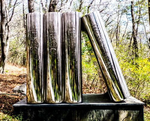 Quick glance of Book Sculpture