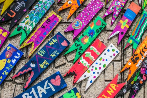 Paper Clip Art - Gamcheong Cultural Village