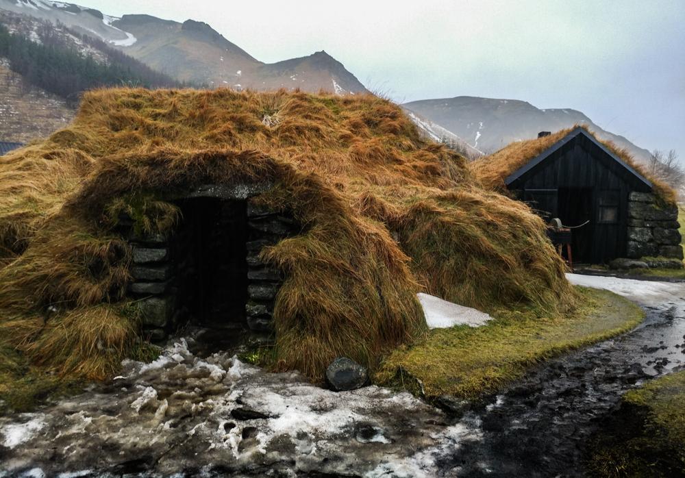 Skogar Folk Museum - Turf House