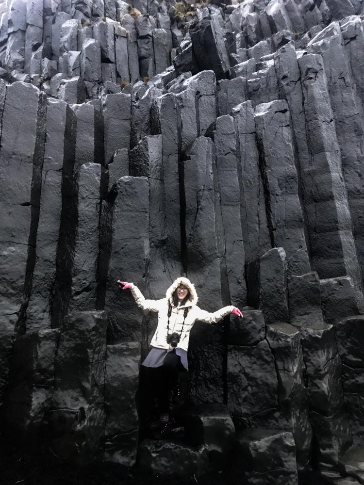 Basalt columns & Me!