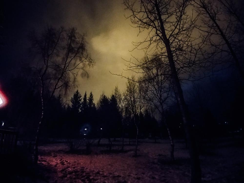 Spooky atmosphere around  Flúðir region - Secret Lagoon