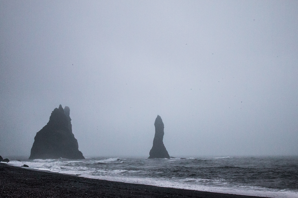 Reynisdrangar - Basalt sea stack