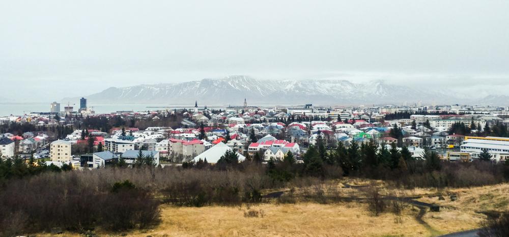 360 Degree View of Reykjavik - Perlan Observation Desk