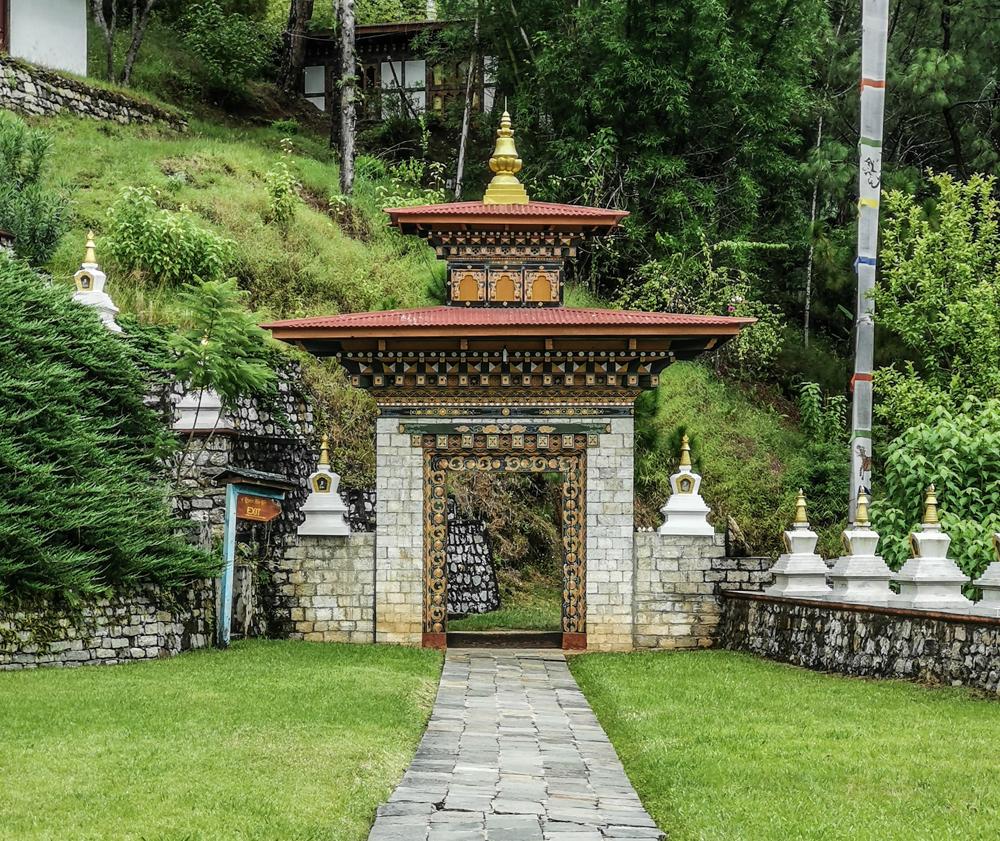 Doorway - Khamsum Yuley Temple