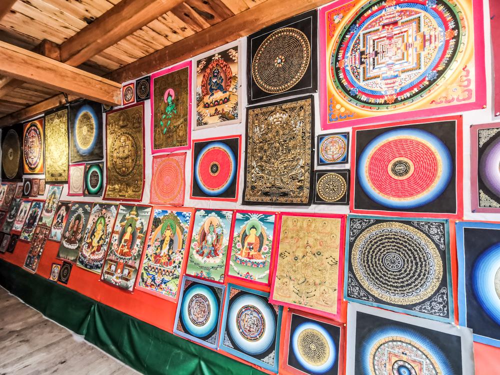 Thangkha Paintings and Mandalas