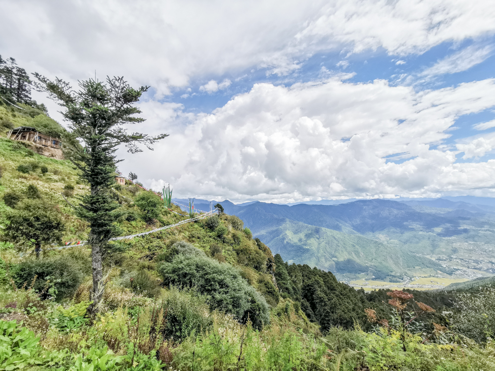 Scenery during hike up Bumdra