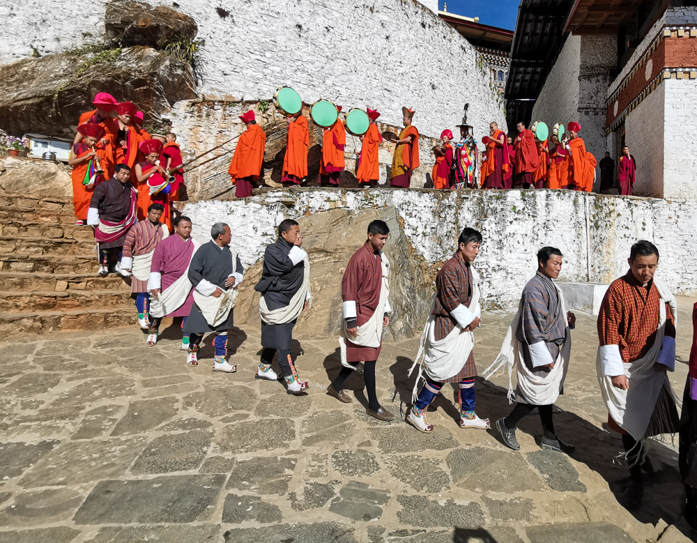 Festival at Gasa, Bhutan