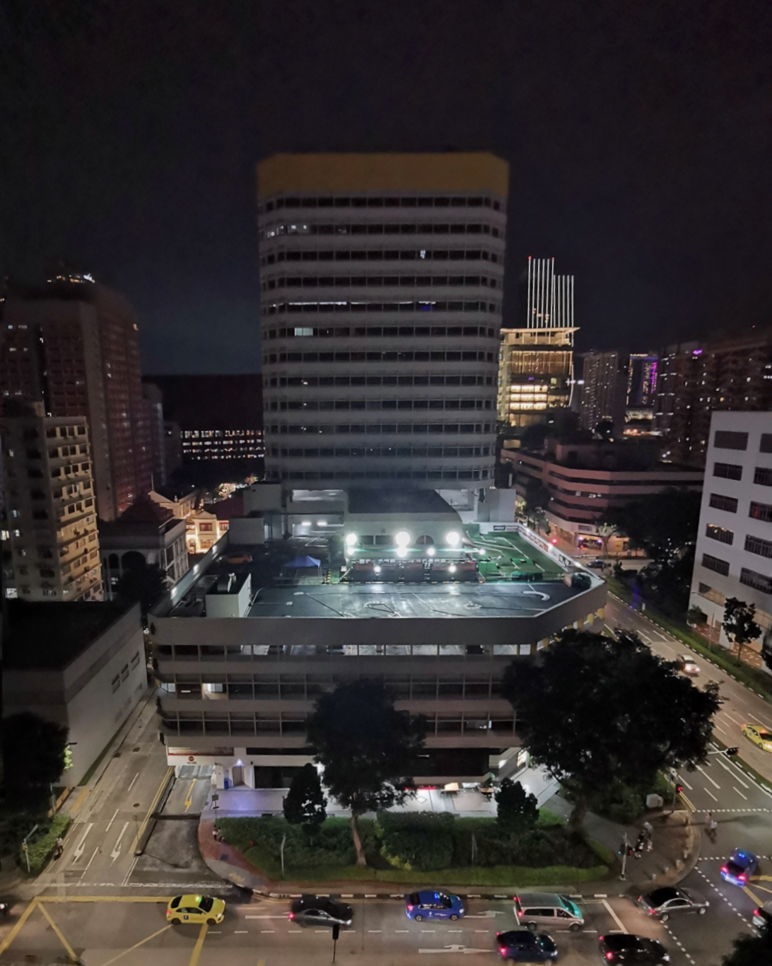 Hotel G - Balcony Night View