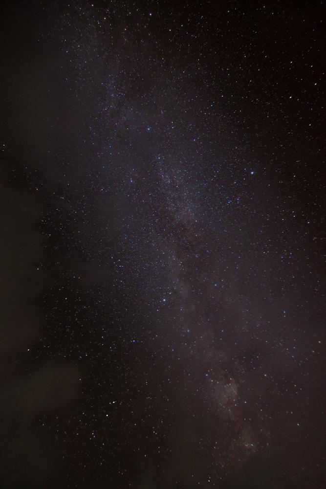 Milky Way at Bumdra Camp